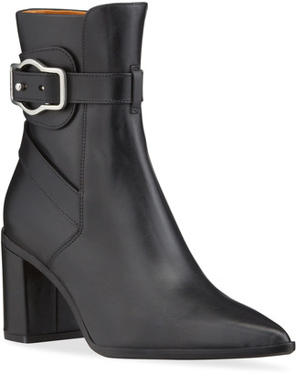 Rag & Bone Brynn Jodhpur Leather Pointed-Toe Ankle Boots
