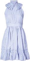 Alexis stripe flared dress - women - Cotton - XS