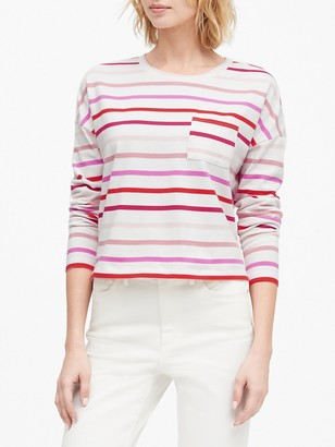 Banana Republic Boxy Stripe T-Shirt