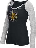 Reebok NHL Long Sleeve Slub Tee - Boston Bruins