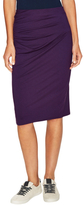 Three Dots Side Pleated Pencil Skirt