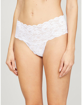 Cosabella Comfie high-rise lace thong