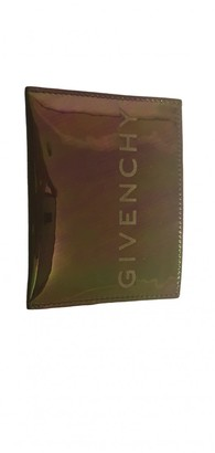 Givenchy Purple Patent leather Small bags, wallets & cases