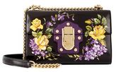 Dolce & Gabbana Lucia Floral Chain Shoulder Bag