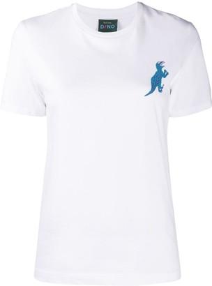 Paul Smith Dino-print organic cotton T-shirt