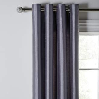 Argos Home Faux Silk Lined Eyelet Curtains