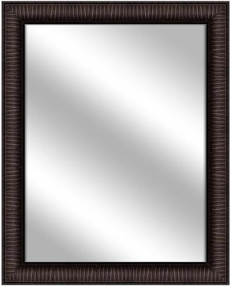 PTM Images Over the sink Vanity Mirror, Dark Bronze, 26.375x32.375