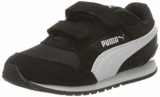 Puma Kids' St Runner V2 Mesh V Inf Sneakers Black Black White/Gray Violet 06 9 UK Child 27 EU