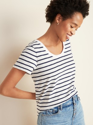 Old Navy EveryWear Striped Slub-Knit Tee for Women