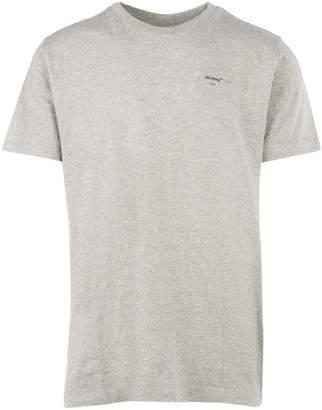 Off-White Off White Logo Short Sleeve Slim T-Shirt