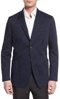 Robert Talbott Two Button-Jacket, Indigo