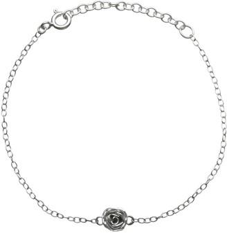 Lucy Flint Jewellery Rose Bracelet Sterling Silver