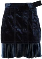 3.1 Phillip Lim pleated-hem mini skirt