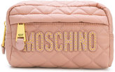 Moschino Quilted makeup bag