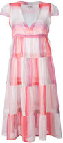 Lemlem empire line striped dress - women - Cotton - S
