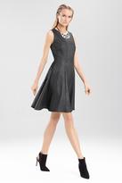 Josie Natori Chintz Texture Sleeveless Dress