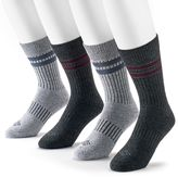 Columbia Men's 4-pack Striped Moisture Control Crew Socks