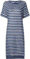 Woolrich striped flared dress