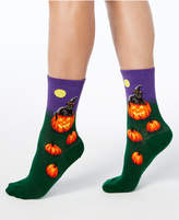 Hot Sox Women's Cat Witch Socks