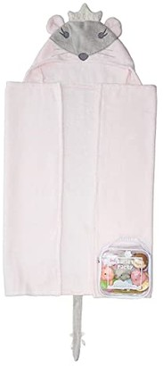 Elegant Baby Mouse Bath Wrap and Squirtie Set (Infant) (Pink) Bath Towels