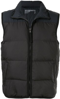 James Perse Zipped Padded Gilet