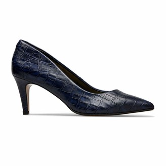 Van Dal Womens Juneau Pointed Leather Court