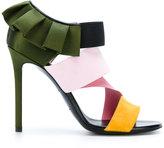 Emilio Pucci frilled stiletto sandals