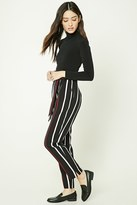 Forever 21 FOREVER 21+ Striped Tie-Waist Pants