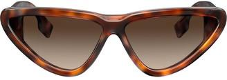 Burberry Eyewear Cat Eye Sunglasses