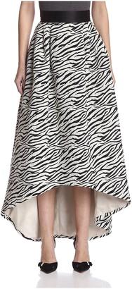 ABS by Allen Schwartz Women's Jacquard High Low Skirt