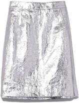 Proenza Schouler Mini Skirt in Silver