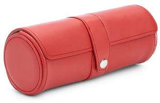ROYCE New York Leather Travel Watch Roll