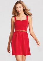 Delia's Ruched Front Dress