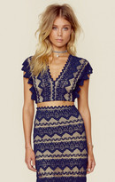 Nightcap Clothing sierra lace crop top