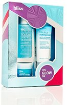 Bliss Oh, Glow On! Gift Set (3 Pcs) | Includes Fabulous Foaming Face Wash, Drench 'N' Quench, Makeup Melt