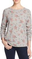 Soft Joie Annora Floral Print Sweatshirt