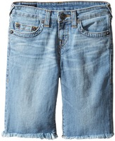 True Religion Geno Shorts in Creased Wash Boy's Shorts