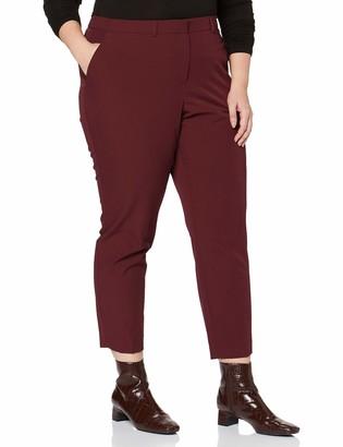Dorothy Perkins Curve Women's Elastic Back Ankle Grazer Trousers