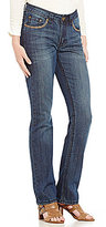 "Reba ""Sierra Sunrise"" Chelsea Embellished Boot Leg Jean"