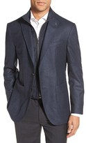 Ted Baker Men's Tucker Trim Fit Houndstooth Wool Sport Coat