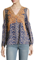 Plenty by Tracy Reese Printed Cold Shoulder Blouse