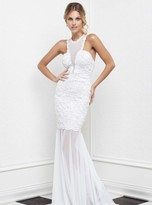 Baccio Couture - Milly - 923 Painted Long Dress