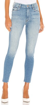 Mother High Waisted Looker Ankle Fray. - size 28 (also