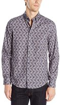 Ben Sherman Men's Long Sleeve Paisley Shirt