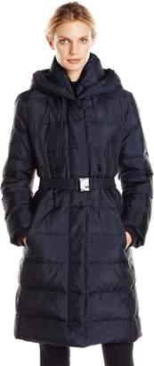 Fleet Street Ltd. Women's Belted Down Coat