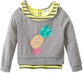 Roxy Girls' Cool Pineapple 2Fer Tee (7yrs-16yrs) - 8132830