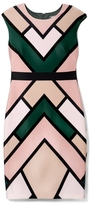 Vince Camuto Geo-print Dress