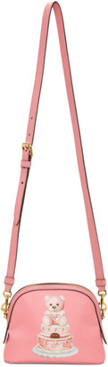 Moschino Pink Cake Teddy Bear Shoulder Bag