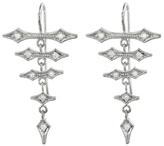 Cathy Waterman Diamond Arrow Earrings - Platinum