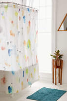 Urban Outfitters Painterly Marks Shower Curtain